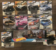 Hot Wheels Fast And Furious Lot