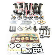 D1146t D1146n Engine Rebuild Kit And Connecting Rod Andwater Pump For Doosan Dh220