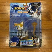 Sonic The Hedgehog Tails Figure Toy Doll Sonic X Metal Force New 2007 Rare Sega