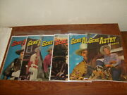 22 Vintage Dell Gene Autry Comics Mostly Verygood