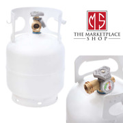 5 Lb Empty Steel Propane Cylinder Tank Refillable With Opd Valve Built-in Gauge