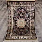 Collection Of 3x5ft Hand Knotted Area Rug Runner Gallery Handmade Silk Carpet