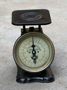 Vintage Antique American Family Scale Co. Kitchen Scale 25 Lbs