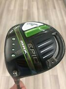 Callaway Epic Max Driver-10.5 Cypher 40 5.5-regular-mint-left-free Shipping