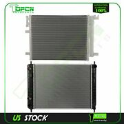Fits 2007-2010 Chevrolet Hhr Replacement Radiator And Condenser Assembly