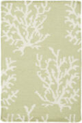 Surya Bdw-4009 Boardwalk Coastal Rectangle Ivory 8and039 X 11and039 Area Rug