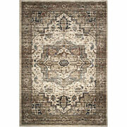 Orian Aria Heriz Medallion Off White 8and03910x13and039 Area Rugs 8204