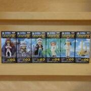 One Piece World Collectible Figure History Of Law All 6 Types