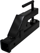 Extreme Max 5001.1369 Clamp-on Tractor Bucket Hitch Receiver Adapter - 2