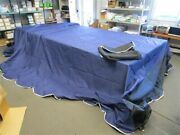 Floe Boat Lift Canopy 511-11311-01 10.5and039 X 30and039 Navy Blue / Black Mesh Marine