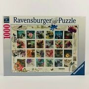Ravensburger Vintage Postage Jigsaw Puzzle 1000 Pieces New In Box Sealed