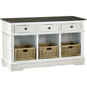 Sunset Trading Cottage 3 Baskets And Drawers Sideboard Cc-cab234tld-wwrw