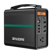 166wh Portable Power Station Solar Generator Camping Emergency Backup Battery