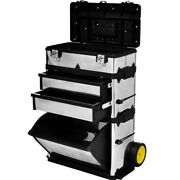 Rolling Tool Box Storage Cabinet Chest Workshop Boxes Organizer W/ Drawers Usa