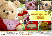 Hot Mms503 Pooh And As An Adult Mobile Figure Phu Piglet Set Of Winnie The