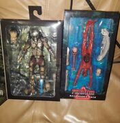 Neca Predator Jungle Hunter And Accessory Pack Action Figures Lot