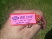Vintage 1960' S Ford Accessories Nos Promo Fomoco Auto Part Key Holder Old Cars