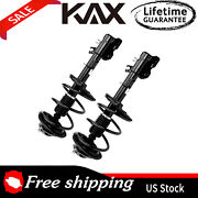 2pcs Front Strut Spring Assembly And Sway Bar Link Set For Infiniti Fx35 Fx45