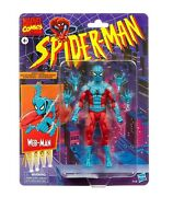 Marvel Legends Web-man Spiderman Inverted Colors Retro Card 90s Figure Toy New