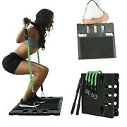 2.0 Portable Home Pull Rope Set Multifunctional Training Board Fitness Equipment
