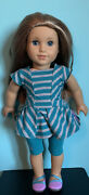 American Girl Doll Mckenna Doll And Practice Wardrobe Lot