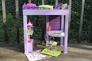 American Girl Doll Mckenna Loft Bed And Accessories Complete