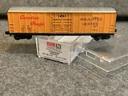 N Scale Micro-trains Canadian Pacific 50and039 Boxcar 167062 Cp Rail 027 00 310