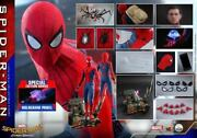 Hot Qs014b Spiderman Homecoming 1/4 Figure Spider-man Hottoys