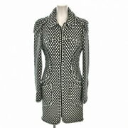 Coat Navy White Previously Owned Free Shipping No.5117