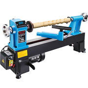 Vevor Wood Lathe 12x18 Digital Readout 550w Benchtop Cast Iron-up To 3800rpmand039s