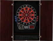 Viper Metropolitan Solid Wood Cabinet Andelectronic Dartboard Ready-to-play Bundle