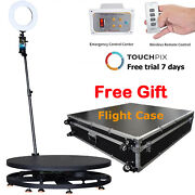 360photo Booth Spinner Video Motion Rotating Selfie Platform Automatic Motorized