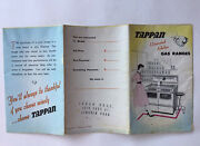 Vintage 1950andrsquos Tappan Gas Ranges Stoves W/models And Features Foldout Brochure