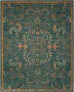 Nourison 12and039 X 15and039 2020 Teal Rectangle Area Rug