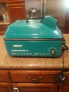 Nesco Roast-air Oven 12 Complete Roaster Oven Tested With Fan, Rack