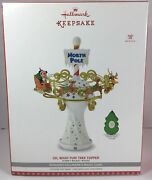 2017 Disney Mickey Mouse Oh, What Fun Tree Topper With Light And Music New