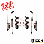Icon 2.5 Suspension System Stage 2 Air Ride For Ram 2500 4wd 2014-2020