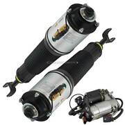 For Audi A8 Quattro And S8 Pair Arnott Front Air Struts W/ Compressor Dac
