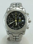Secondhand Tagheuer Link Chronograph/ayrton Senna Limited Edition/link