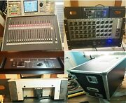 Excellent Bundle Roland M-400 Mixer And Flight Case S-4000 Digital Snake And Remote
