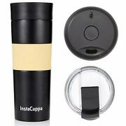 Double Wall 470 Ml Vacuum Insulated Travel Steel Coffee Flask Thermos Mug | F/s