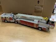 Valuable Outofprint Product Twh Ladder 1 150 Diecast Ladder Fire Engine Minicar