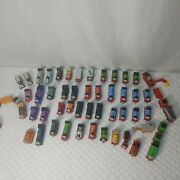 Thomas And Friends Take N Play Along Diecast Magnetic Train Cargo Lot 50+