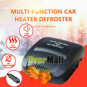 Plug In 180° Portable Ceramic Auto Car Heater 12v Dc Vehicle Heating Cooling Fan