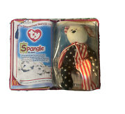"""Rare Mcdonalds Beanie Baby Still In The Packaging…""""spangle The Bear"""""""