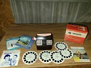 Vintage Viewmaster 3d- Imension Model-e With 5 Reals And All The Original...