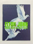 Elton John Signed Autograph 2001-02 Songs From The West Coast Tour Program Real