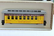 Ho-roundhouse 3780 Barnum And Bailey Circus Passenger Car New Kit