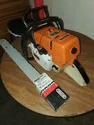 Stihl Ms460 Magnum Chainsaw With 24 Inch Bar Runs As It Should