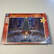 Ravensburger 1000 Piece Puzzle Nyc Christmas 195633 Limited Edition New Sealed